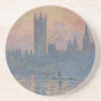 Chambres du Parlement en hiver par Claude Monet Dessous De Verres