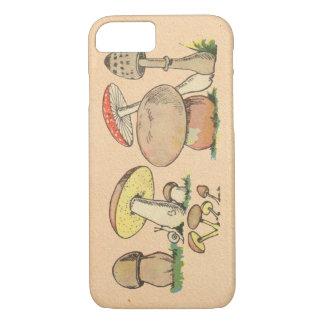 Champignon vintage coque iPhone 8/7