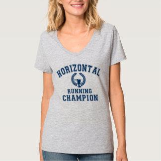 champion courant horizontal t-shirt
