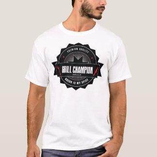Champion de GRIL - le lard est mon épice T-shirt