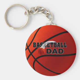 Champion - porte - clé de papa de basket-ball porte-clé rond