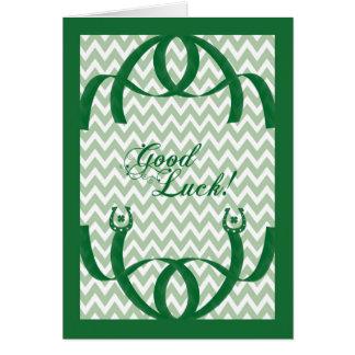 Chance religieuse de carte du jour de St Patrick