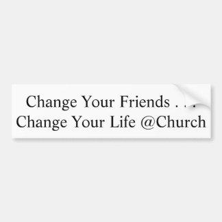 Changez votre autocollant d'amis