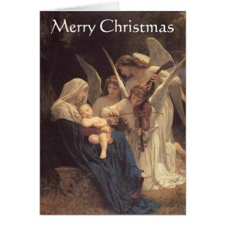 """""""Chanson carte de Noël d'anges"""""""