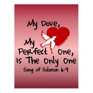 Chanson de 6:9 de Solomon Carte Postale