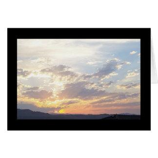 Chanson de coucher du soleil d'été de solénoïde. carte