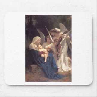 Chanson des anges - William-Adolphe Bouguereau Tapis De Souris