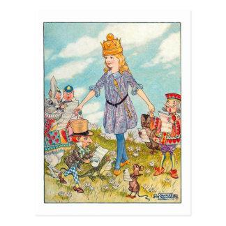 Chansons d'Alice : Alice et ses amis Carte Postale