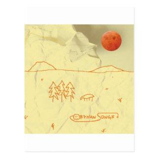 Chansons orphelines Auto-Intitulées couverture Carte Postale