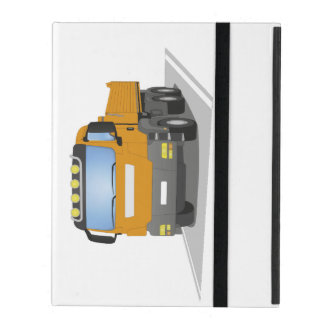 chantiers camion oranges protection iPad