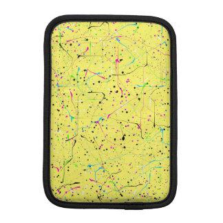 Chaos jaune housse iPad mini