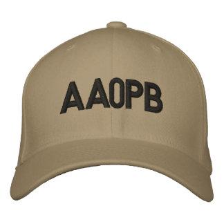 Chapeau adapté avec l'indicatif d'appel casquette brodée