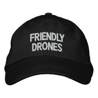 Chapeau amical de bourdons chapeaux brodés