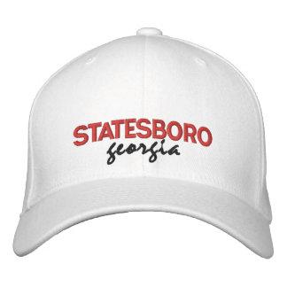 Chapeau brodé par Géorgie de Statesboro