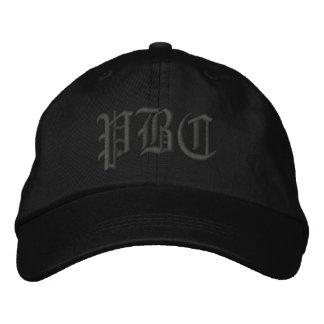 Chapeau brodé par PBC