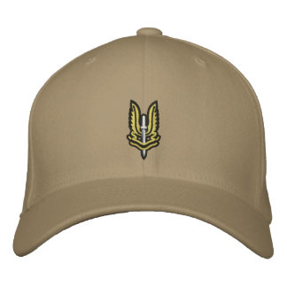 Chapeau brodé par SAS