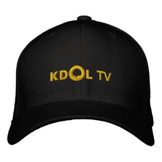 Chapeau brodé par TV de KDOL
