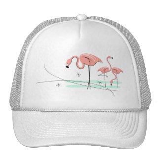 Chapeau de camionneur du trio 3 de flamants casquettes