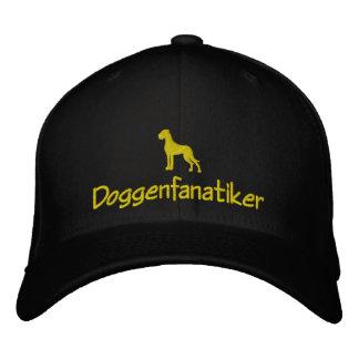 Chapeau de dogue casquette brodée