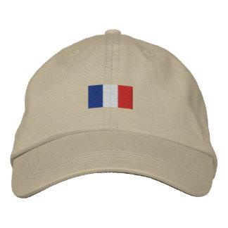 Chapeau de la France de La de Drapeau De - Bleus Casquette Brodée
