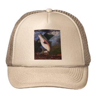 Chapeau de literie de truite casquettes