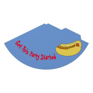 Chapeau de partie de hot-dog