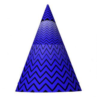 Chapeau de partie de zigzag