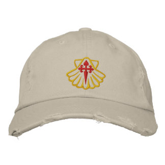 Chapeau de pèlerin chapeau brodé