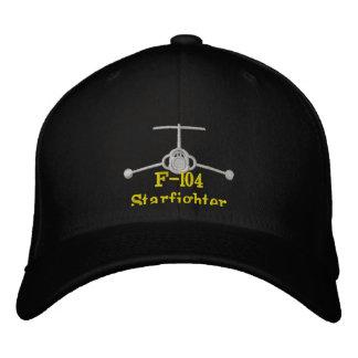 Chapeau du golf F-104 avec l'indicatif d'appel Casquette De Baseball Brodée