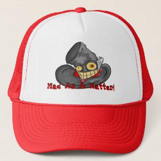 Chapeau fou en tant que chapelier casquette