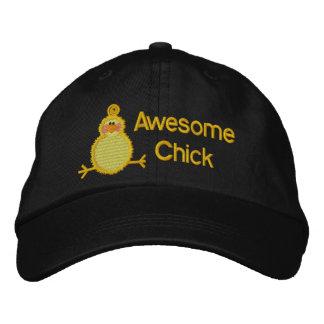 Chapeau impressionnant de poussin casquette de baseball brodée