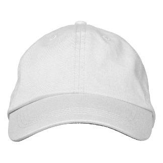 Chapeau réglable personnalisé casquette brodée