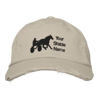 Chapeau stable casquettes brodées