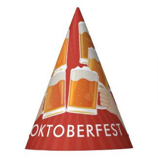 Chapeaux De Fètes Acclamations pour Oktoberfest ! Bières pour chacun