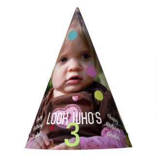 Chapeaux De Fètes Année d'anniversaire de modèle photo