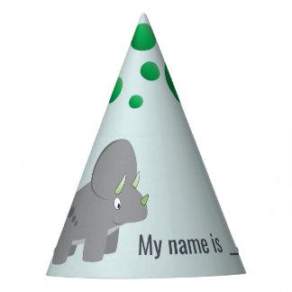 Chapeaux De Fètes Baby shower mignon du dinosaure | pour honorer la