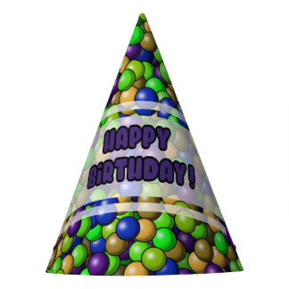 Chapeaux De Fètes Casquette de fête d'anniversaire d'amusement