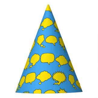 Chapeaux De Fètes Casquette de partie de super héros - bulles de la