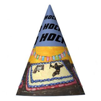 Chapeaux De Fètes Casquette de partie d'hockey de traîneau
