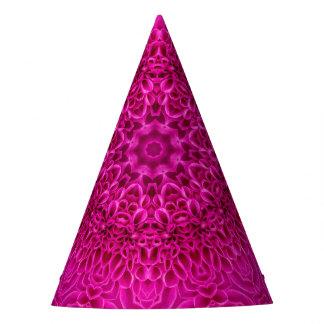 Chapeaux De Fètes Casquette fait sur commande rose de partie de