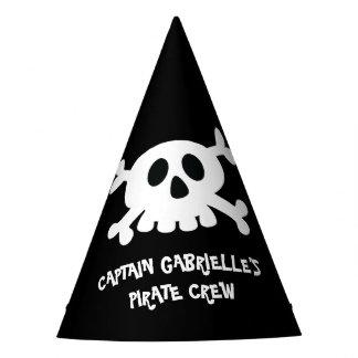 Chapeaux De Fètes Casquette frais de partie de pirate de Crossbone