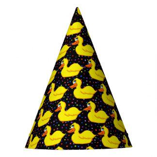 Chapeaux De Fètes Casquettes jaunes de partie de canard