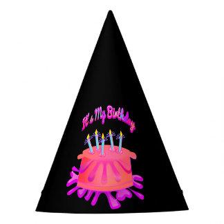 Chapeaux De Fètes C'est mon anniversaire ! Casquette rose de partie