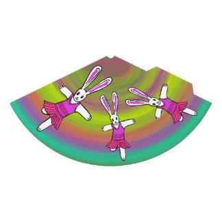 Chapeaux De Fètes Danse de ballerine de lapin sur un casquette