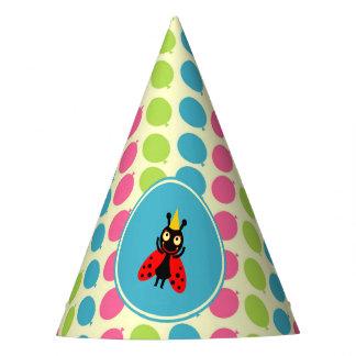 Chapeaux De Fètes Fête d'anniversaire d'enfants de coccinelles et de