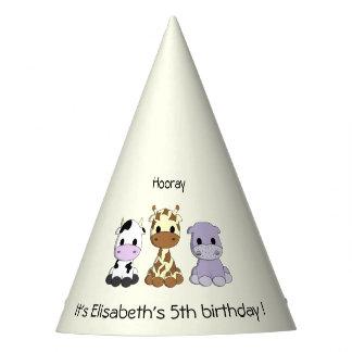 Chapeaux De Fètes Fête d'anniversaire mignonne de fille de bande