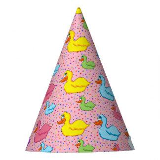 Chapeaux De Fètes Grands et petits casquettes de partie de canards