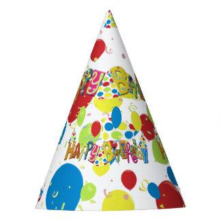 Chapeaux De Fètes Joyeux anniversaire gai
