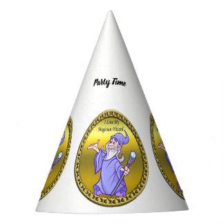 Chapeaux De Fètes Magicien magique de pourpre de sorcière de