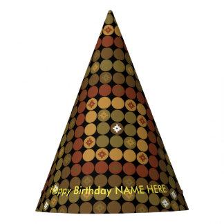 Chapeaux De Fètes Magie de diamant de polka de casquette de partie